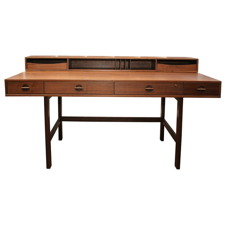 Teak Desk By Lovig At 1stdibs