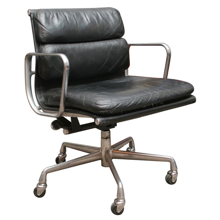Charles Eames Soft Pad Desk Chair by Herman Miller at 1stdibs