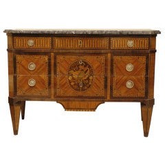 "Superb Louis XVI Commode, Stamped ""J. Manser"", France c. 1770"