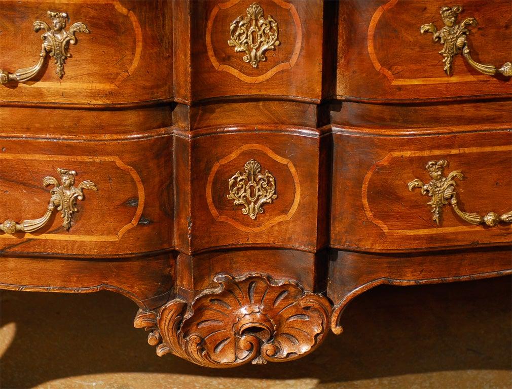 18th Century French Walnut Commode 4