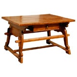 18th Century Tyrolean table desk with one drawer