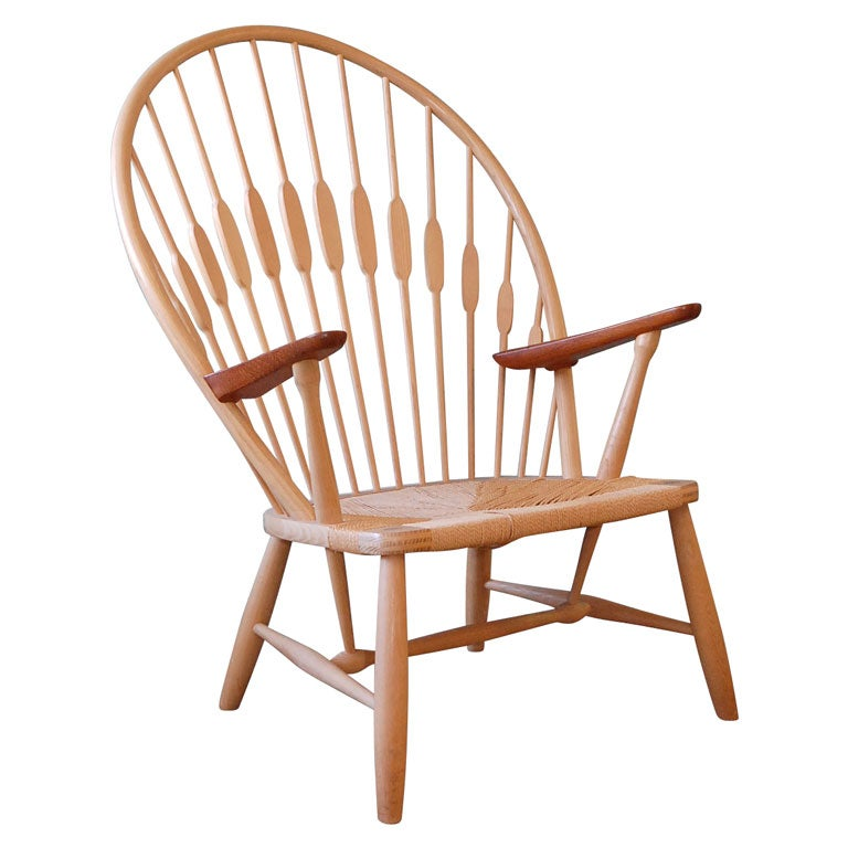 Hans Wegner Peacock Chair At 1stdibs