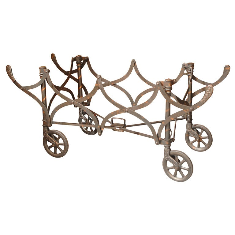 Collapsible Church Trolley / Casket Stand on Wheels