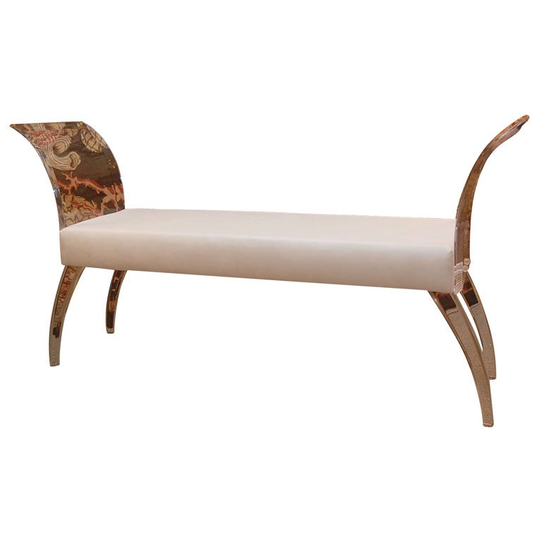 Beautifully Made Upholstered Lucite Bench at 1stdibs : xDSC0105 from 1stdibs.com size 768 x 768 jpeg 24kB