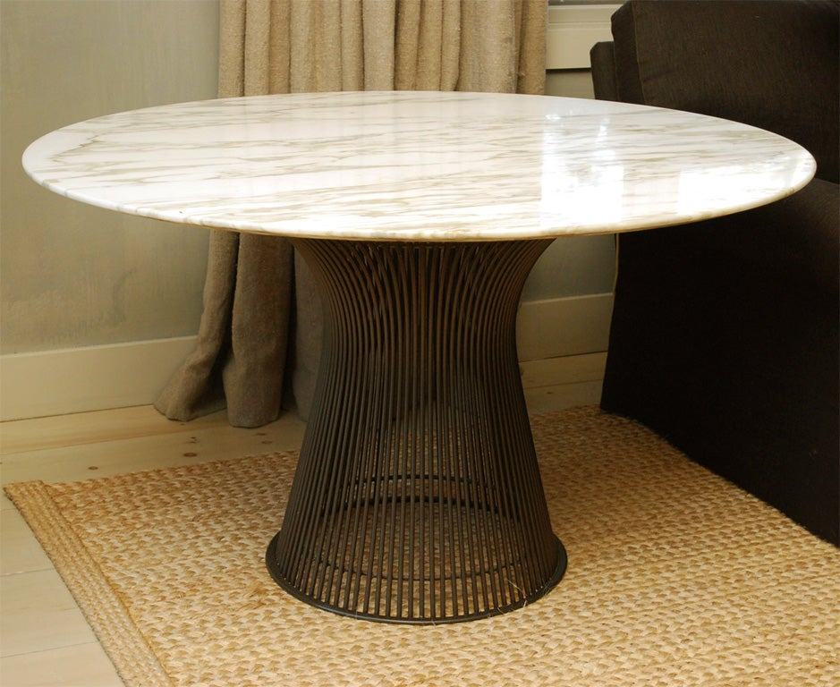 Warren platner table at 1stdibs for Table warren platner