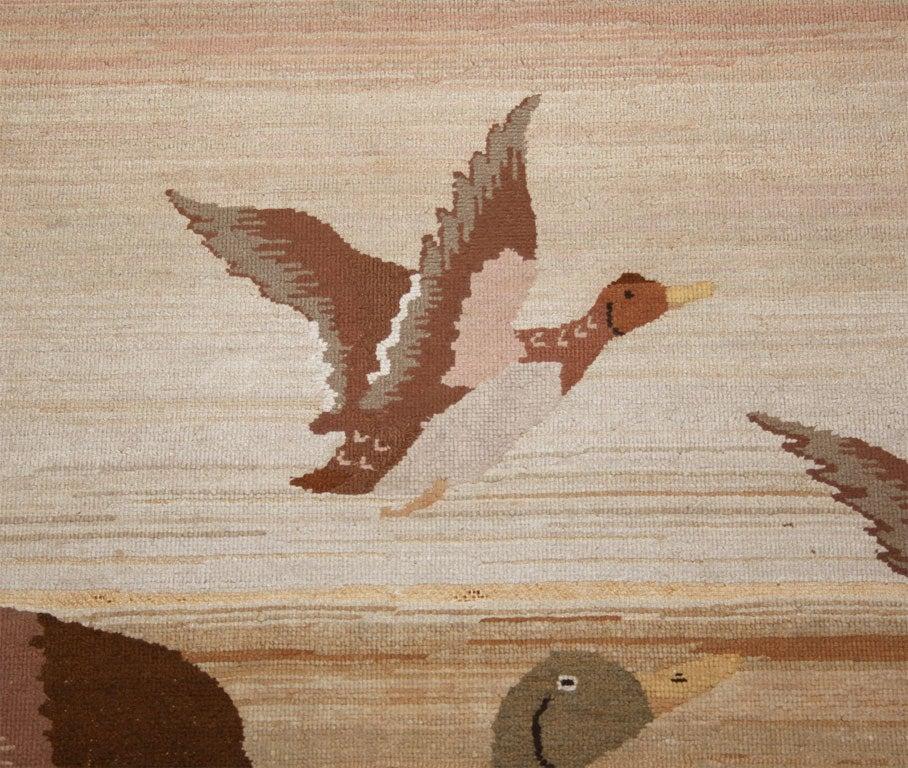 Grenfell Mat, Mallard Ducks in Flight For Sale 2