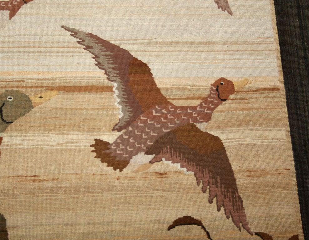 Grenfell Mat, Mallard Ducks in Flight For Sale 3