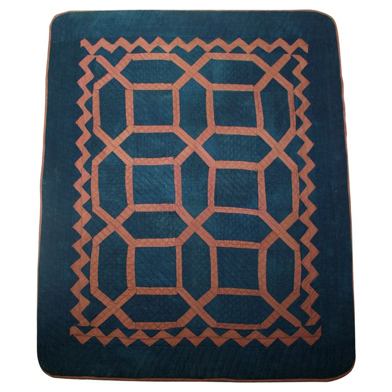 Maze Amish Crib Quilt For Sale At 1stdibs