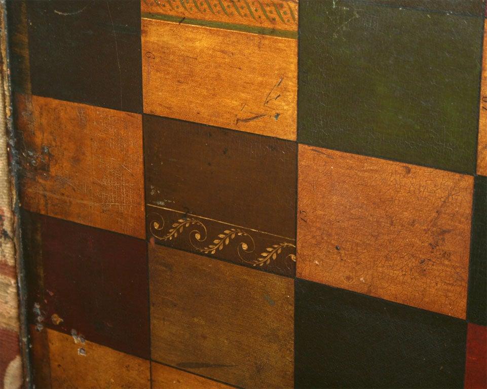 English Folk Art Sign-Maker's Sample Board in Original Paint For Sale