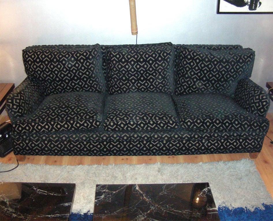 1950s spanish three seater sofa by gaston y daniela at 1stdibs - Gaston y daniela sofas ...
