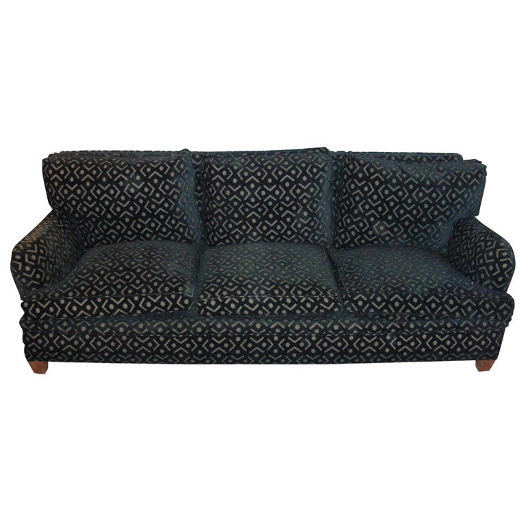 1950s Spanish Three-Seater Sofa by Gaston y Daniela