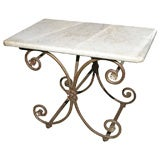 Antique French Baker's Table