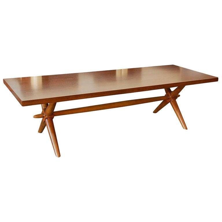 T H Robsjohn Gibbings coffee table for Widdicomb