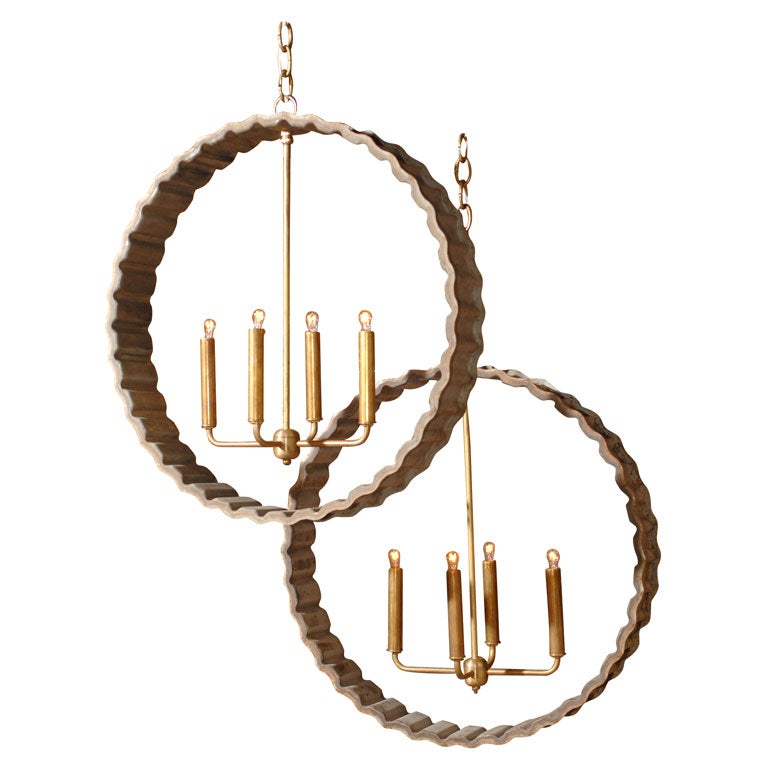 Light In The Cog Chandeliers At 1stdibs