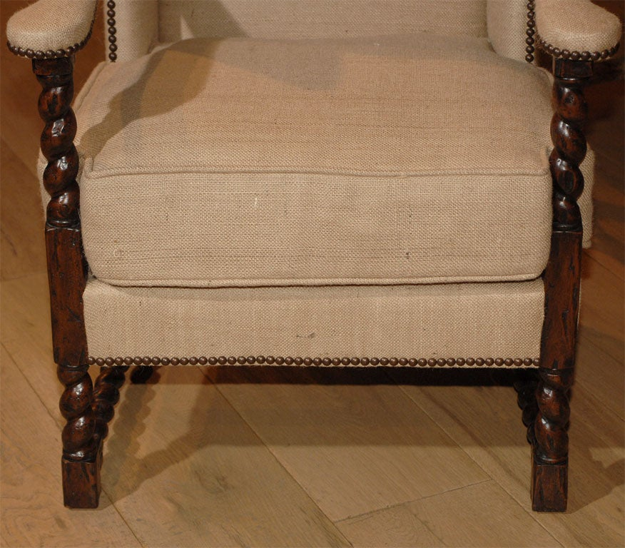 The spanish baroque style armchair at 1stdibs for Spanish baroque furniture