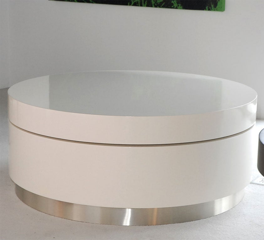 Swivel Coffee Table By Twentieth Studio For Sale At 1stdibs