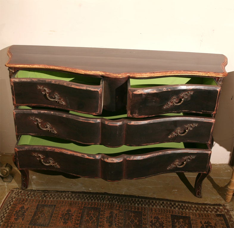 Bombay baroque style chest of drawers at stdibs