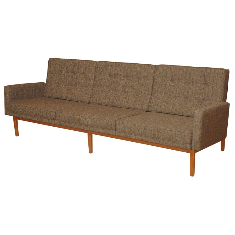 early florence knoll sofa at 1stdibs. Black Bedroom Furniture Sets. Home Design Ideas
