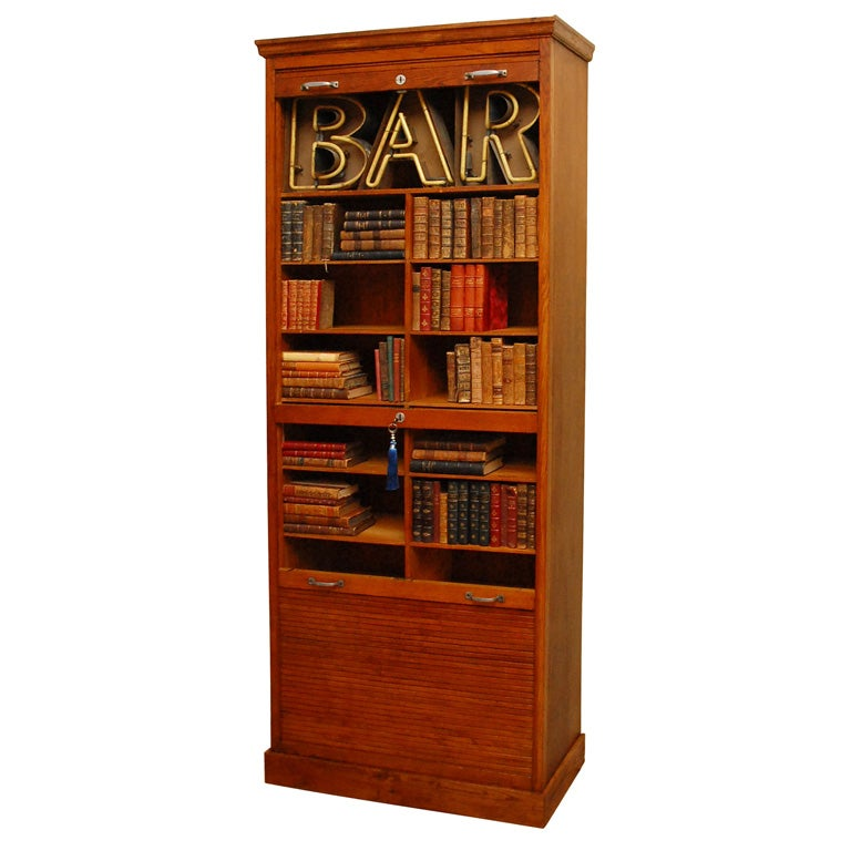 French duo roll cabinet for sale at 1stdibs - Deco house bourgeois ...