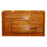 Teak Bookshelves in the Manner of Michel Dufet