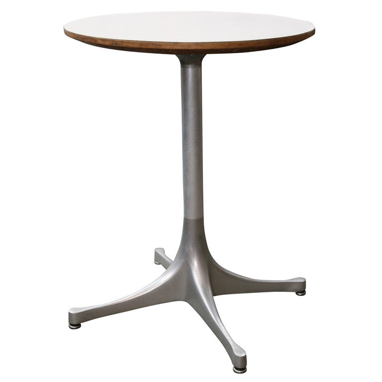 George nelson for herman miller swag leg drink table at for Nelson swag leg table