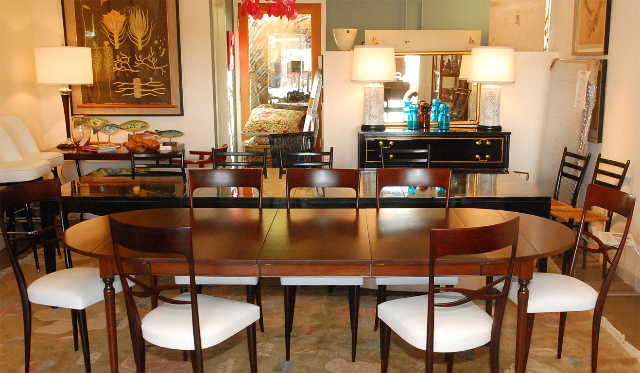 pennsylvania house cherry dining room furniture | Cherry Dining table by Pennsylvania House and 8 dining ...