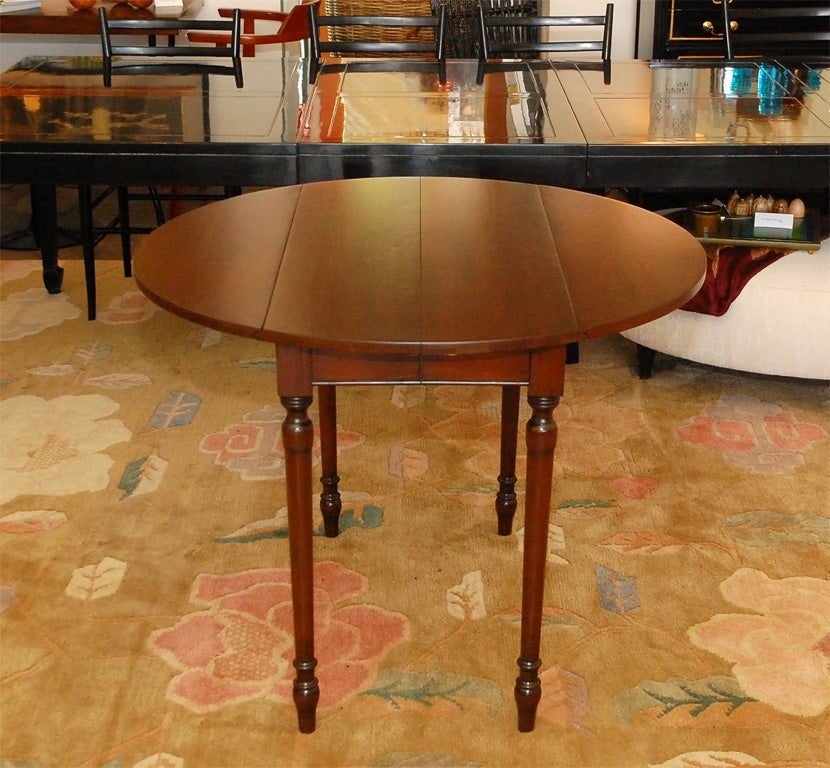 cherry dining table by pennsylvania house and 8 dining