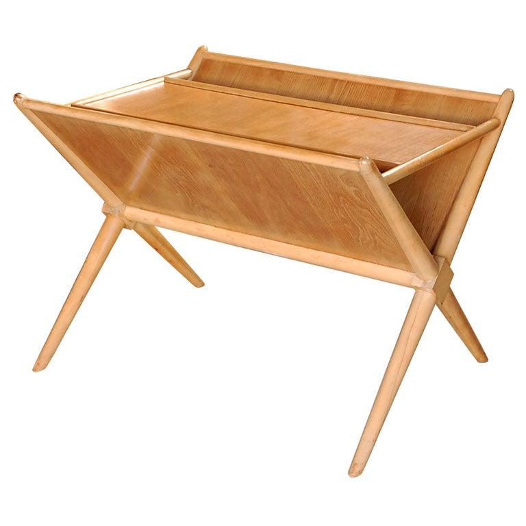 Magazine Table Designed by T.H. Robsjohn-Gibbings for Widdicomb