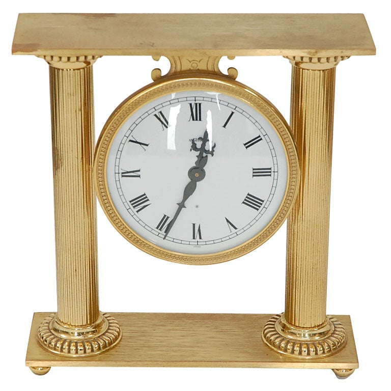 Quot Angelus Quot Neo Classic Clock Gmd 1665 At 1stdibs