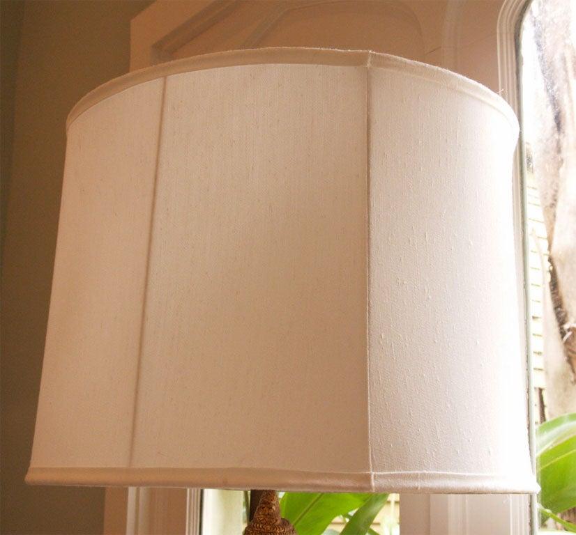 "Tall Gilt ""Thai"" Table Lamp 3"