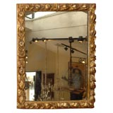 Antique Italian Giltwood Frame/Mirror