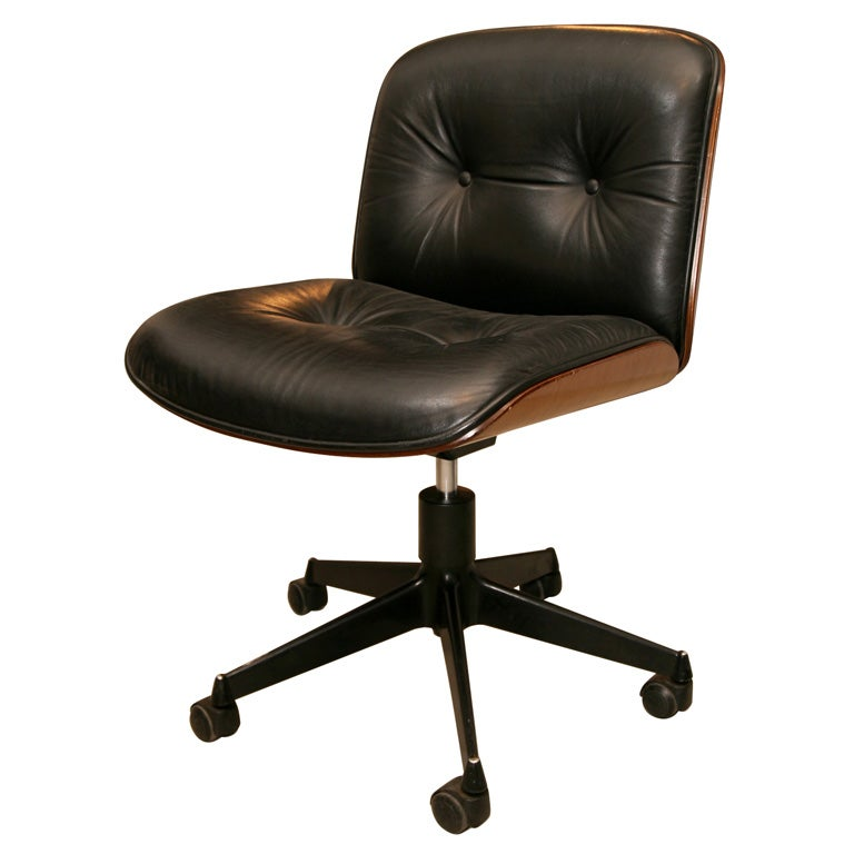 Ico Parisi Desk Chair For MiM At 1stdibs
