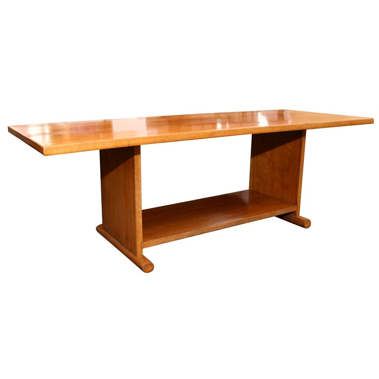 Jeanne De Lanux Long Low Table At 1stdibs