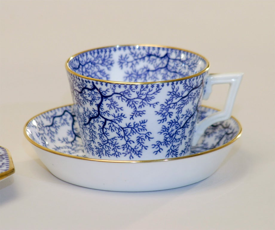 19th Century Minton Porcelain Tea Set 2