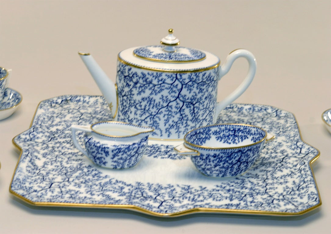 19th Century Minton Porcelain Tea Set 4