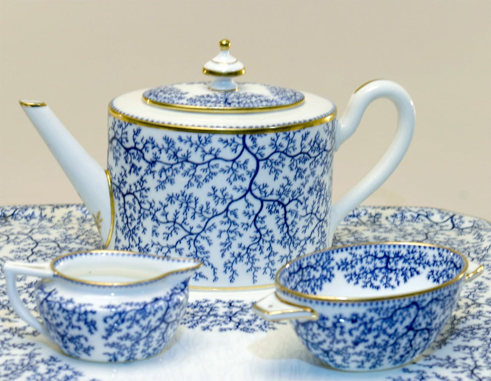 19th Century Minton Porcelain Tea Set 5