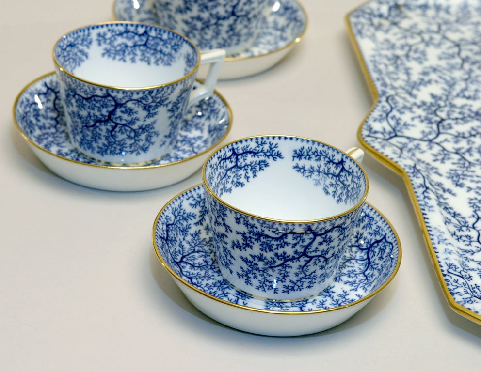 19th Century Minton Porcelain Tea Set 6