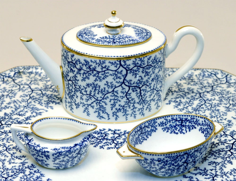 19th Century Minton Porcelain Tea Set 7
