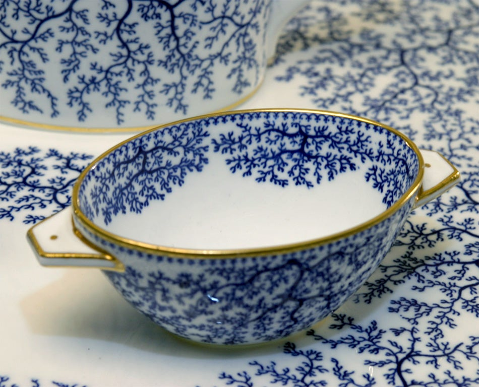 19th Century Minton Porcelain Tea Set 8