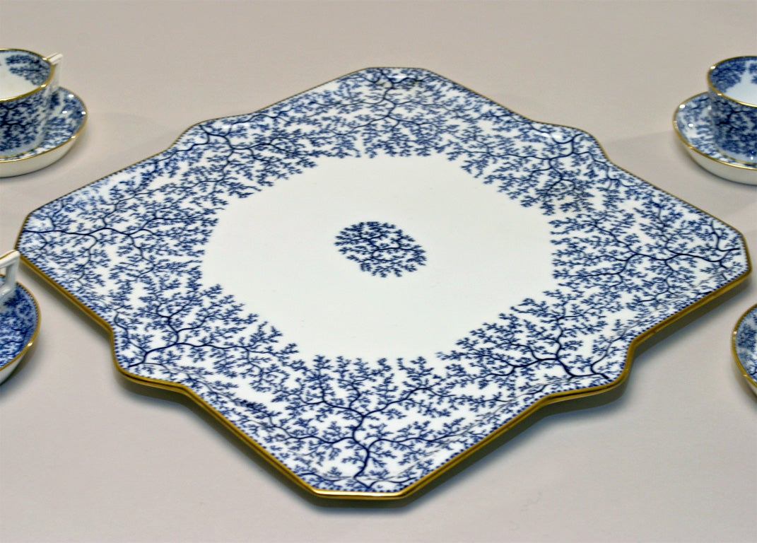 19th Century Minton Porcelain Tea Set image 9
