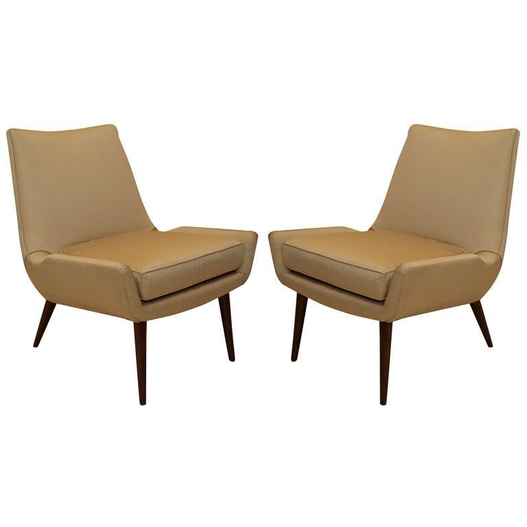 Paul McCobb lounge Chairs at 1stdibs