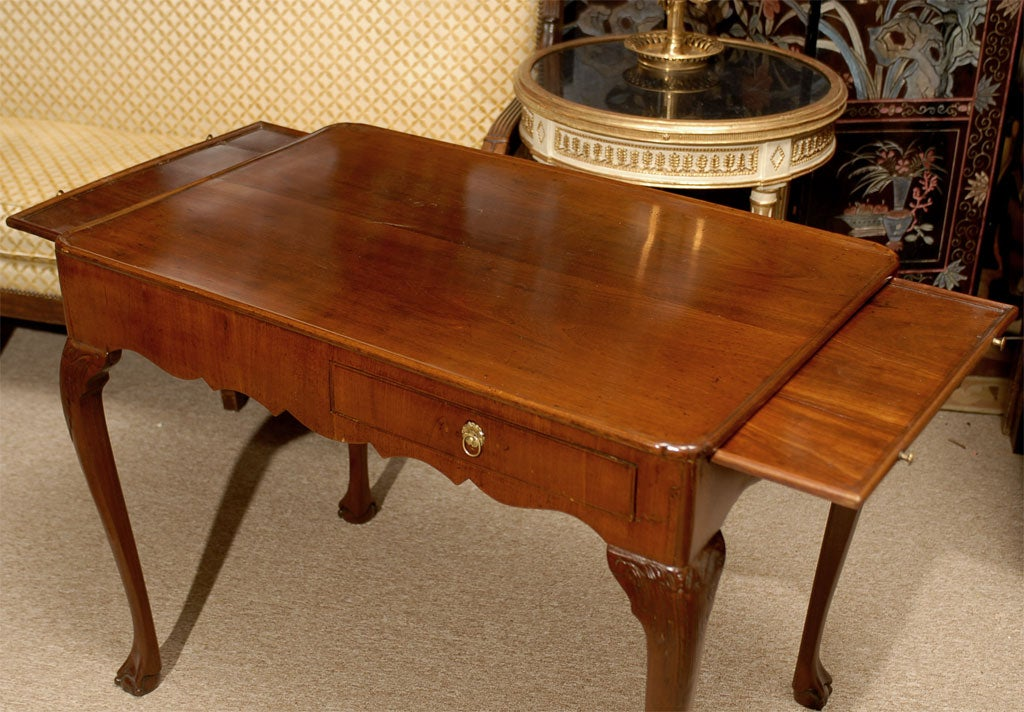 George III Tea Table in Mahogany, England, c. 1780 5