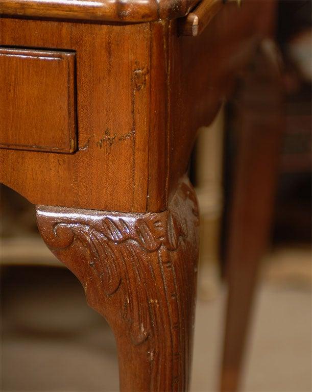 George III Tea Table in Mahogany, England, c. 1780 For Sale 3