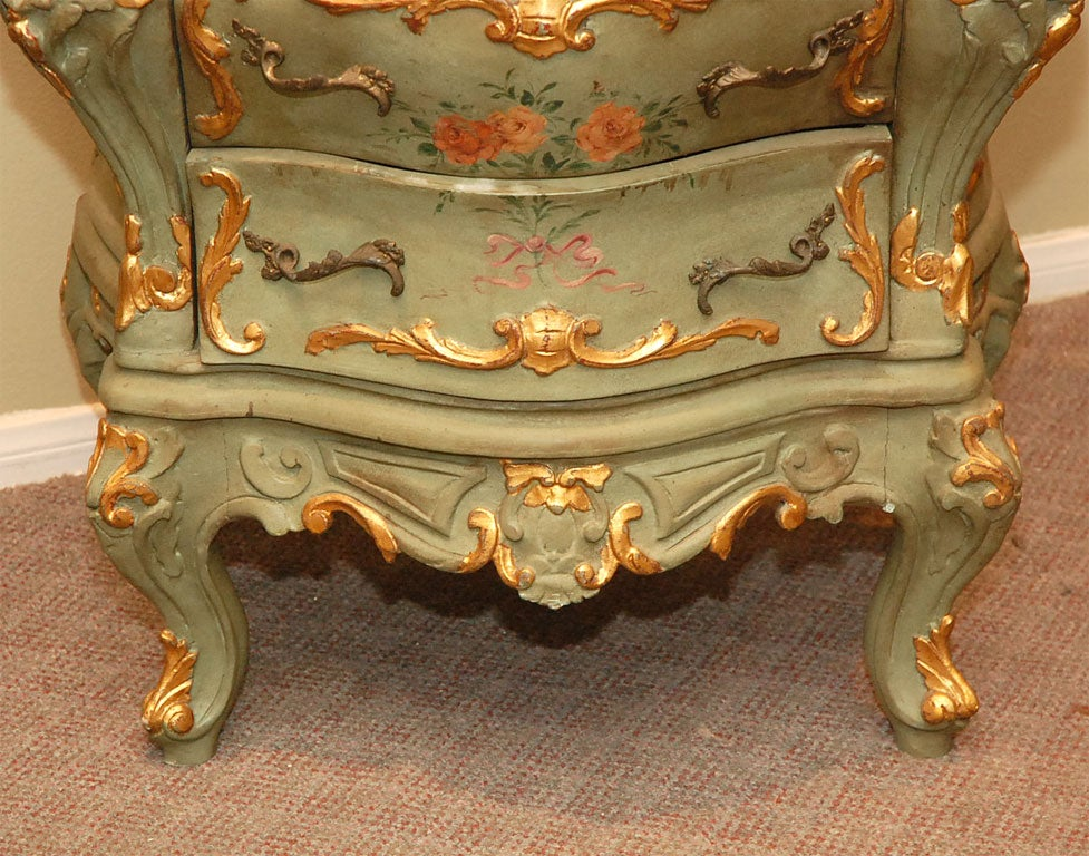 Pair of French Painted Bombay Chests at 1stdibs