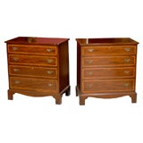 Pair of bachelor's chests