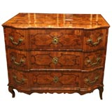 German marquetry chest