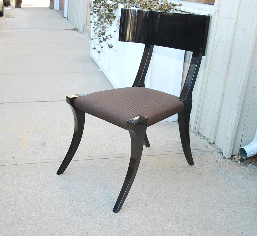 klismos style chair