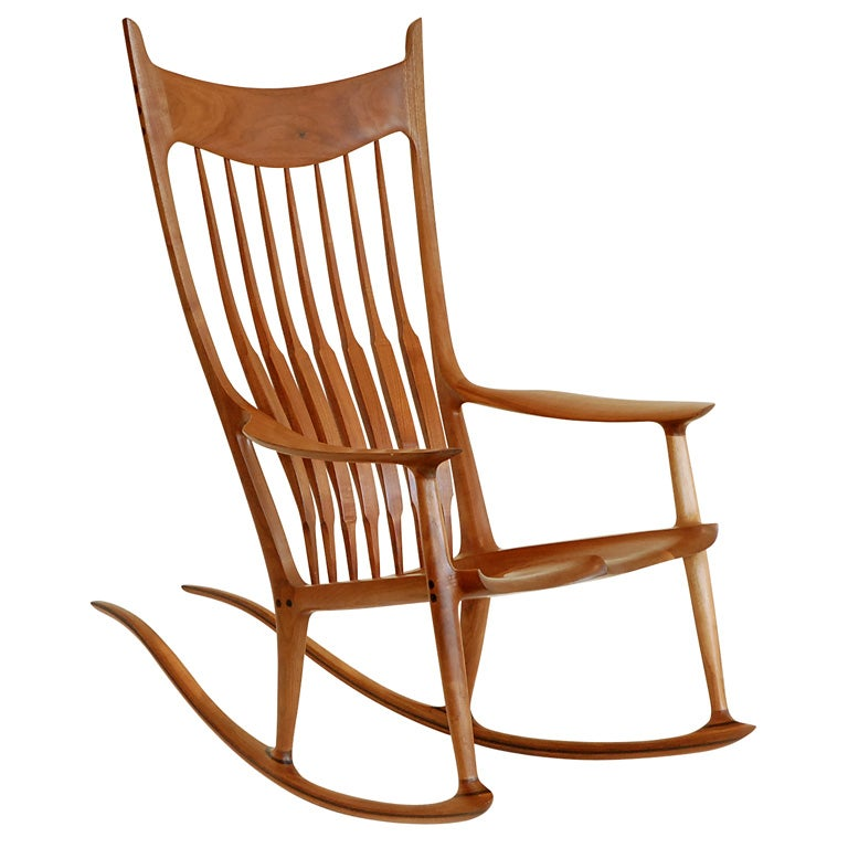 Sam Maloof Rocking Chair at 1stdibs
