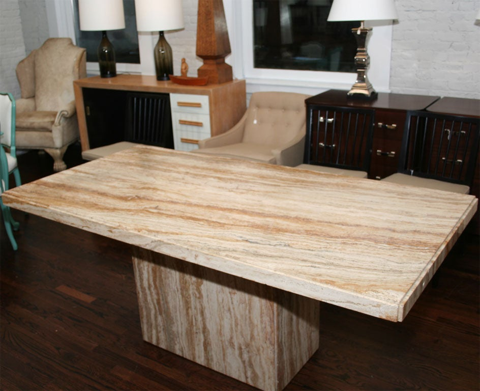 28+ [ Travertine Dining Room Table ] | Classic Oval Polished ...