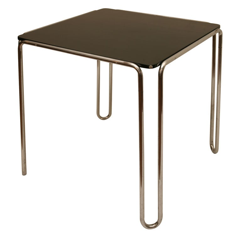 marcel breuer table at 1stdibs. Black Bedroom Furniture Sets. Home Design Ideas